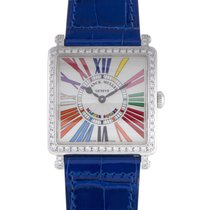 Franck Muller Master Square Womens Quartz Watch 6002MQZD1RCOLD...