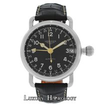 Longines New Men's Heritage Avigation Oversize Crown