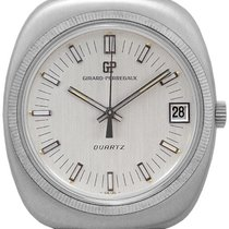 Girard Perregaux Mans Wristwatch 1.st Quartz Watch
