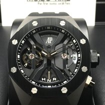 Audemars Piguet Royal Oak Concept TOURBILLON GMT Black Ceramic...