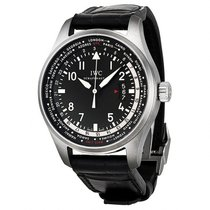 IWC Pilot Worldtimer Black Dial Automatic Men's Watch