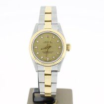 Rolex Oyster Perpertual Steel/Gold 25mm DIAMOND DIAL