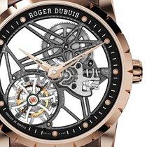 Roger Dubuis [NEW] Excalibur 42 Flying Rose Gold Tourbillon...