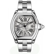 Cartier Roadster GMT Mens' Automatic Watch Stainlesss...