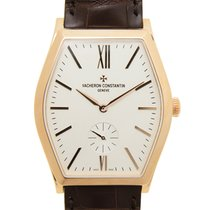 Vacheron Constantin Malte 18k Rose Gold Silvery White Manual...