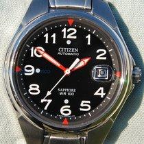 Citizen Automatic Sapphire Wr 100 Diver Automatic Sub