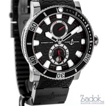 Ulysse Nardin Marine Diver Watch Automatic Black Dial Rubber...