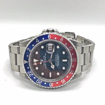 Rolex Gmt Master 2 Pepsi Bezel 16710 Complete Box & Papers...