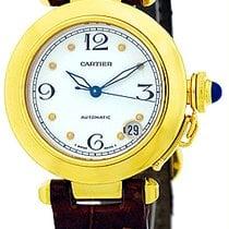 "Cartier ""35mm Pasha"" Strapwatch."