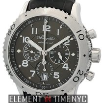 Breguet Pilot Series Type XXI Flyback Chronograph Stainless...