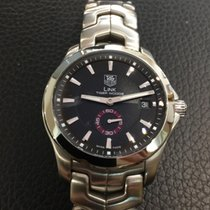 TAG Heuer Link Tiger Hoods limited edition in stainless steel