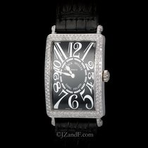 Franck Muller Long Island 1000 18K White Gold And VVS Diamonds...