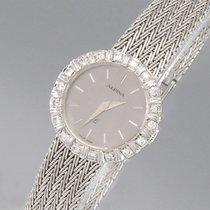 Alpina Klassische Damenuhr mit Diamantbesatz 14K/585 Weißgold - 2