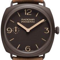 Panerai [NEW] PAM 504 Radiomir Composite Ceramica Brown Dial 47mm