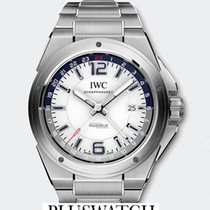 IWC INGENIEUR DUAL TIME WHITE DIAL