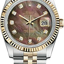 Rolex Datejust 36mm Steel and Yellow Gold 116233