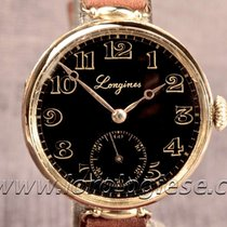 Longines 1915 Original Military Style 18kt. Gold Trench Watch...