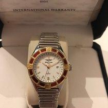 Breitling Lady J Class Gold/Stahl Deutsche Uhr