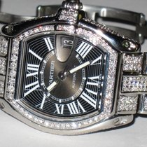 Cartier Roadster Stainless Steel Large Diamonds