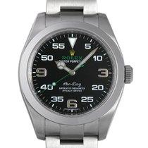 Rolex Air King Black Dial Stainless Steel Men's Watch 40mm...
