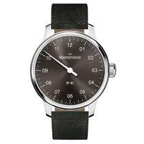Meistersinger Uhren Herrenuhr Einzeigeruhr N01 AM3307