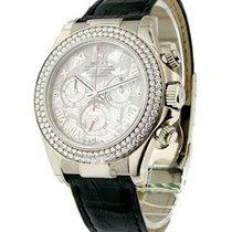 Rolex Unworn 116589RBR mt White Gold DAYTONA on Strap SPECIAL...