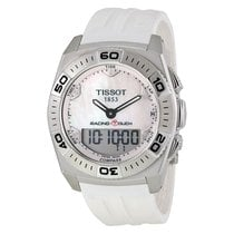 Tissot Racing T-Touch White Rubber Mens Watch T0025201711100