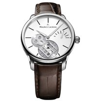 Maurice Lacroix Masterpiece Square Wheel Vintage Silver Dial
