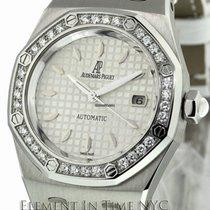 Audemars Piguet Royal Oak Steel Factory Diamond Bezel 33mm...