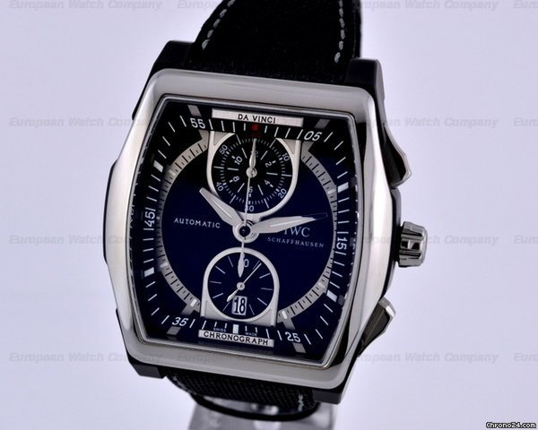 IWC Da Vinci Chronograph Flyback Titanium / Ceramic
