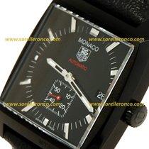 TAG Heuer MONACO Black AUTOMATIC Cal. 6