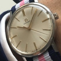 Omega Original Omega Ladys Watch pink Nato Strap Damen Vintage