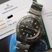 Rolex Submariner 5513 Matte Dial -Fresh Rolex Service-