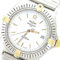 Breitling Callisto 34mm Two-Tone 18K Gold Stainless Bullet...