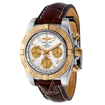 Breitling CHRONOMAT 41 AUTOMATIC CHRONOGRAPH GOLD STEEL CB01