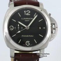 Panerai Luminor 1950 GMT PAM 320  34% Off Retail Dec. 2016