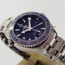 Omega Seamaster Planet Ocean GMT Co-Axial Titanium