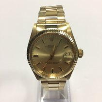 Rolex midsize datejust 18k yellow gold oyster band