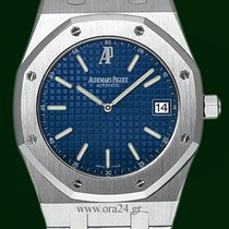 Audemars Piguet Royal Oak 39mm Jumbo Automatic Date Blue Dial