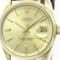 Rolex Vintage Rolex Oyster Perpetual Date 1550 Gold Plated...