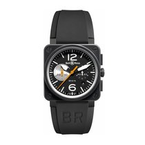 Bell & Ross Aviation Ref. BR03-94-BLK/WHT-CARBON