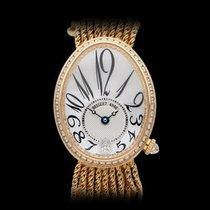 Breguet Reine de Naples Mother of Pearl Diamond Dial 18k...
