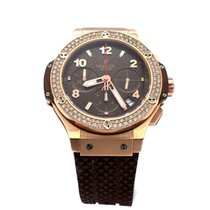 Hublot 18K Rose Gold & Diamond Hublot Chocolate Big Bang...