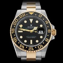Rolex GMT-Master II Stainless Steel/18k Yellow Gold Gents...