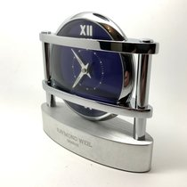 Raymond Weil OTHELLO BLUE DIAL DESK CLOCK 2510-ST-00581 IN...