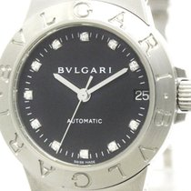 Bulgari Polished  Diagono Sport Diamond Automatic Ladies Watch...