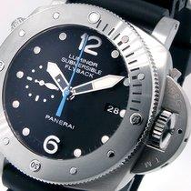 Panerai Unworn  Pam 614 Luminor Submersible 47 Mm Titanium...