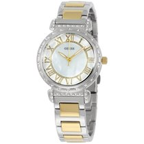Guess W0831l3 Ladies Dress Watch Stainless Steel Silver-tone...