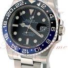 Rolex GMT-Master II, Black Dial, Blue & Black Ceramic...