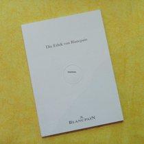 Blancpain Buch, Die Ethik von Blancpain